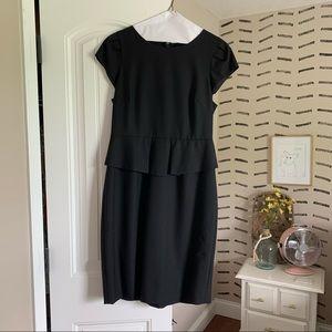 J. Crew peplum sheath dress
